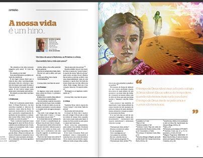 """Check out new work on my @Behance portfolio: """"Ilustração """" A nossa vida é um hino"""""""" http://be.net/gallery/36815935/Ilustracao-A-nossa-vida-um-hino"""