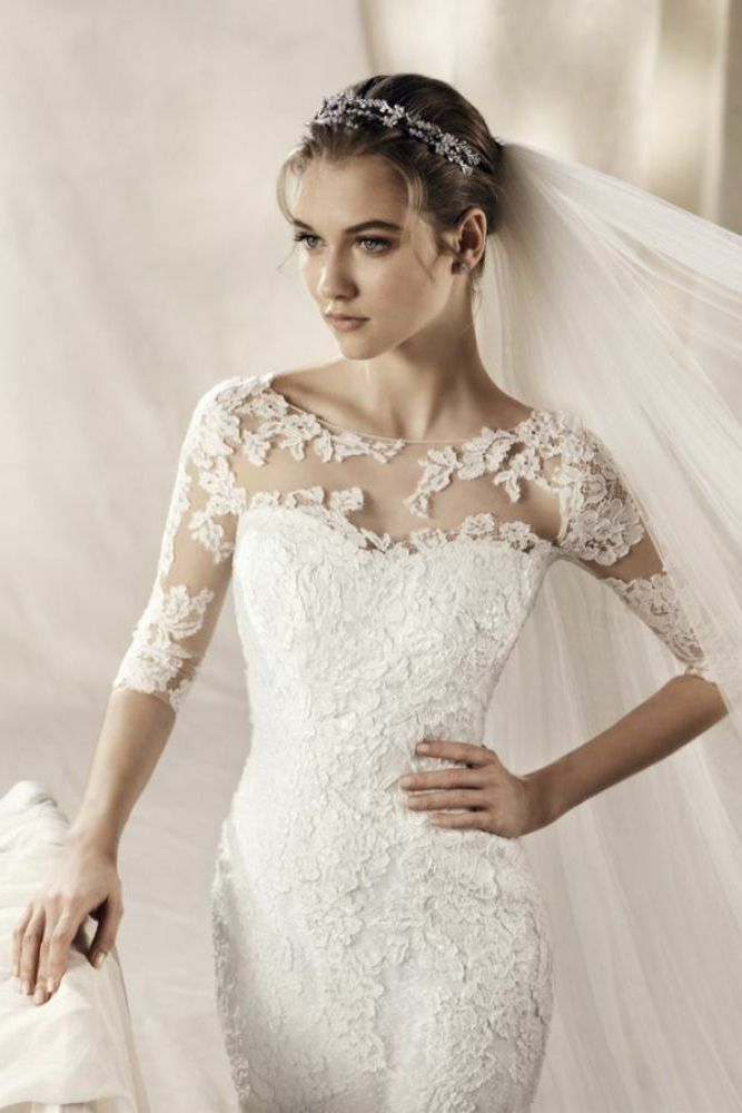 34 best White One Pronovias Dresses at Gatehouse Brides images on ...