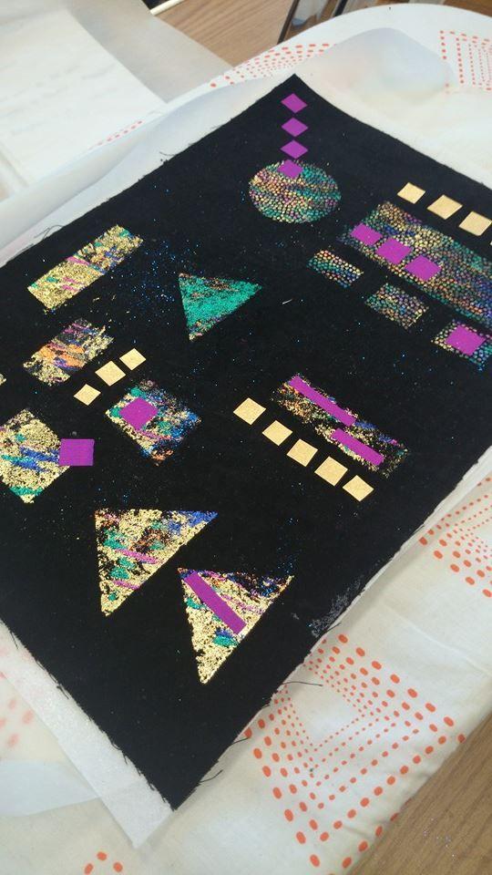 Angie Hughes - Klimt-inspired workshop