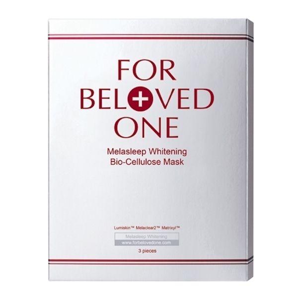 For Beloved One Melasleep Whitening Bio-Cellulose Mask 3pcs - Strawberrycoco