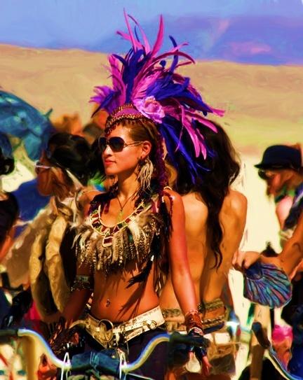Burning Man.  Tracy...where are u?