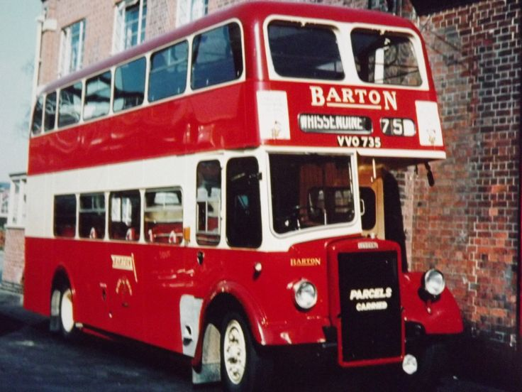 Barton Transport - New deckers of the 50s & 60s. Fleet number 735, A Willowbrook bodied Leyland PS1/1, part of a batch taken into stock in 1957 (Barton chassis ref. BTL/PD1)