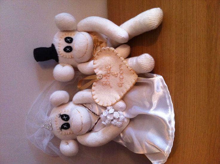 Bride and groom keepsake