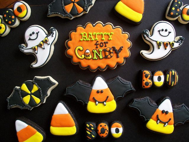 Cute Cookies #halloween #cookies