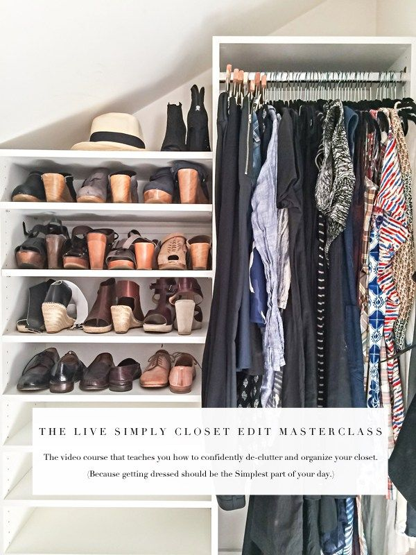 Exceptional Meet Your New Organizing Bff: The Live Simply Closet Edit Masterclass!