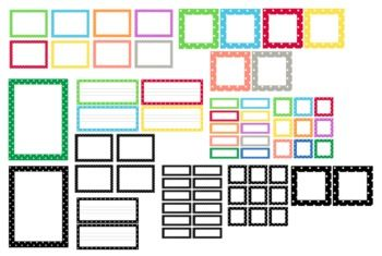 FREE Polka Dot Classroom Labels  image 4