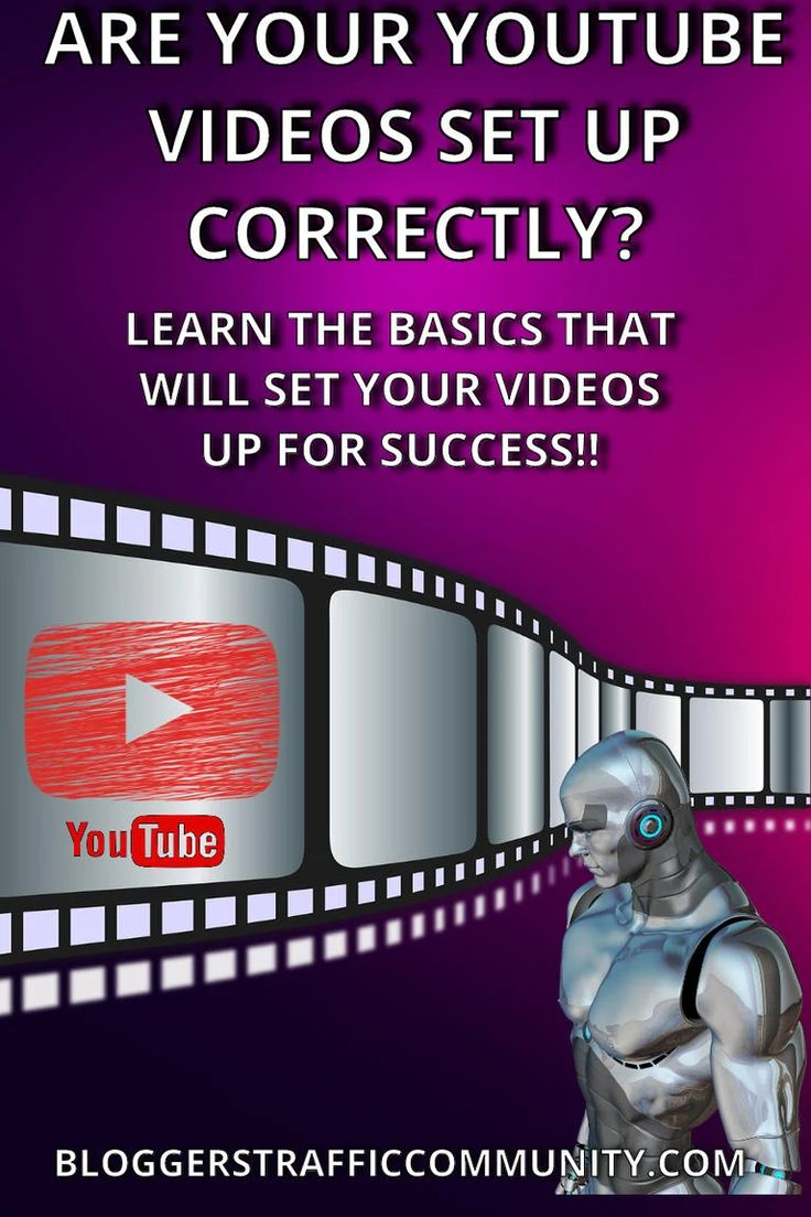 The Blog post will teach you how to setup your Youtube videos so they have the best chance of success on Youtube! A must…