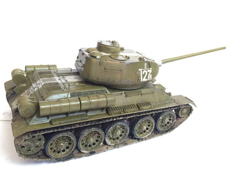 T-34/85 (AFV Club, 1/35)