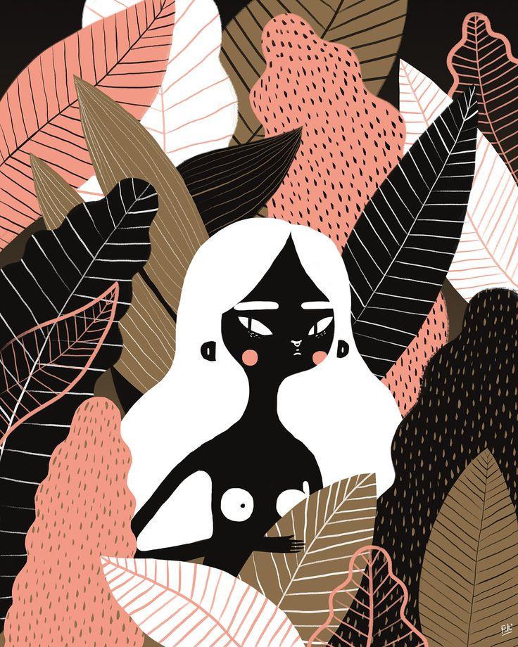 Illustration done for an exhibition in Plaza Futura, El Salvador.