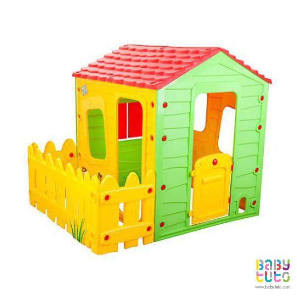 Casa plástico granjera, $129.990 (precio referencial). Marca Kidscool: http://bit.ly/1IhRup3