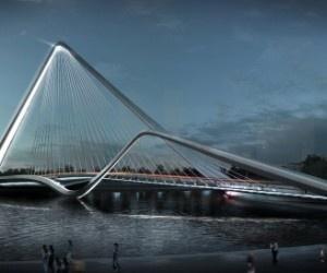 10 DESIGN + Buro Happold  Infinity Loop Bridge