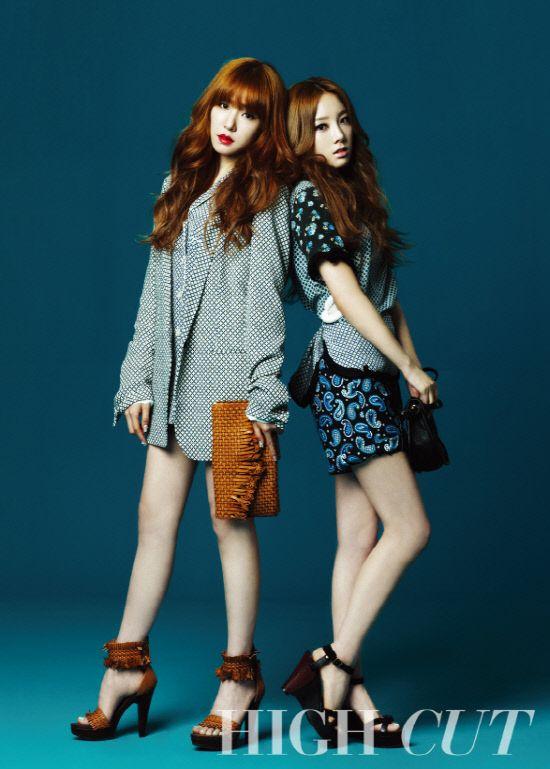 [MAGAZINE] SNSD Tae Yeon and Tiffany – High Cut Magazine | korean lovers photoblog