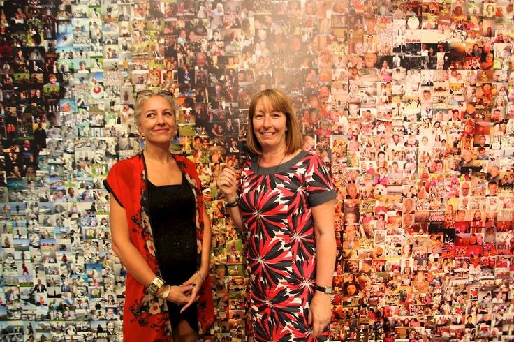 Me and Helen Marshall