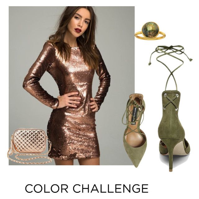 """""""Beyond the day"""" by chiara-galante on Polyvore featuring Steve Madden, Dee Berkley, Charlotte Russe, colorchallenge and greenandblush"""