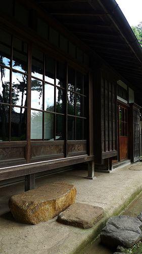 日本家屋、古民家、縁側