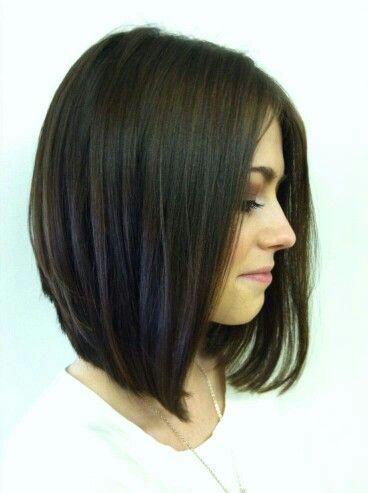 36 Best Images About Long One Length Hair Cut Ascending