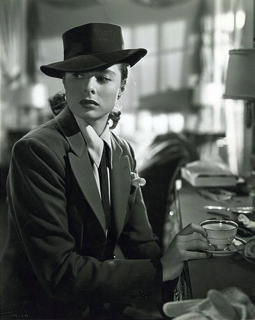 Ingrid Bergman in Notorious [1946]