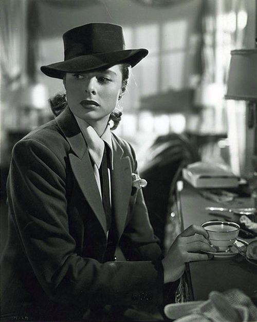 Ingrid Bergman in Notorious [1946]