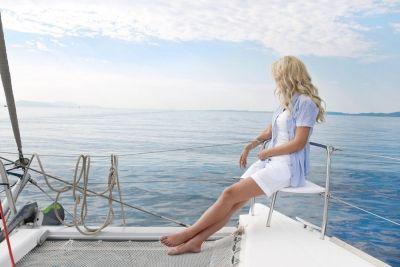 3 days of adventure, 6 greek islands to be visited with the 3 day Catamaran Sailing Cruise to Santorini, Ios, Iraklia, Pano & Kato Koufonisi and Shinousa