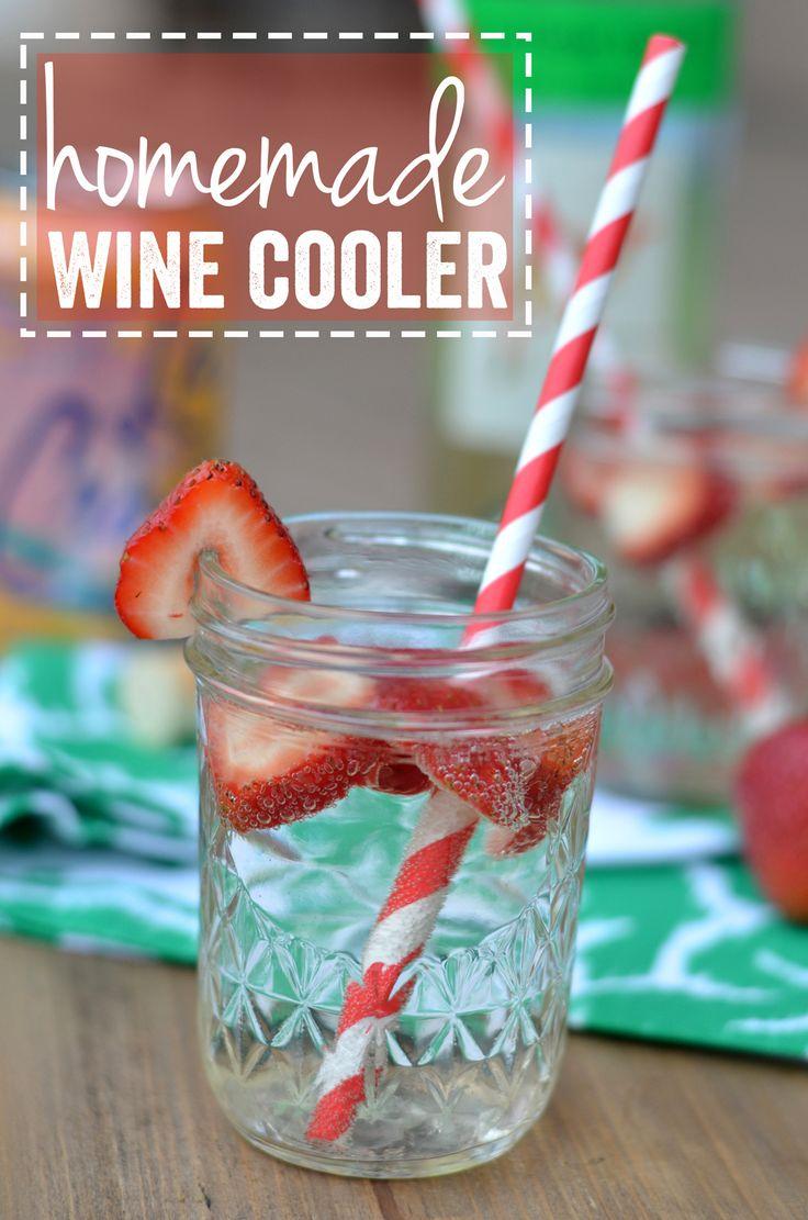 Homemade Wine Cooler