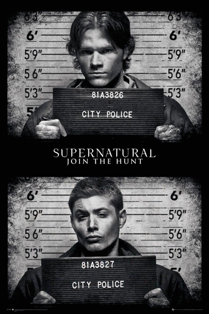 Supernatural Mug Shots - Official Poster