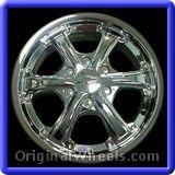 Chevrolet Colorado 2008 Wheels & Rims Hollander #5323 #Chevrolet #Colorado #ChevroletColorado #2008 #Wheels #Rims #Stock #Factory #Original #OEM #OE #Steel #Alloy #Used