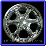 Chevrolet Colorado 2005 Wheels & Rims Hollander #5323 #Chevrolet #Colorado #ChevroletColorado #2005 #Wheels #Rims #Stock #Factory #Original #OEM #OE #Steel #Alloy #Used