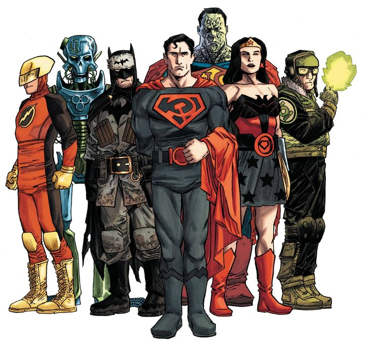 The Multiversity: Earth-29 by Declan Shalvey, colours by ... Red Son Justice League