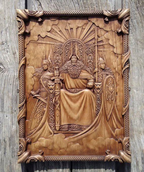 Hey, I found this really awesome Etsy listing at https://www.etsy.com/se-en/listing/482070454/odin-valkiria-viking-mythology-icon-home