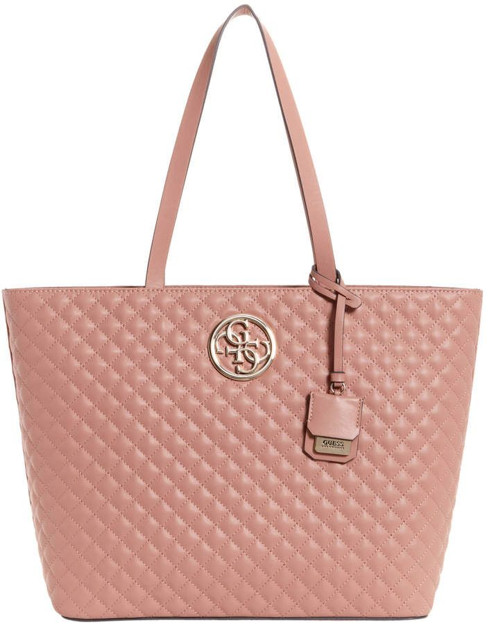 5eb4eb06ecac Guess G Lux Double Handle Tote Bag