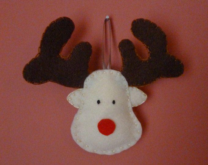 Fieltro adornos de Navidad Santa cláusula ornamento adorno
