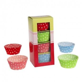 Spotty Cupcake Cases Selection Box
