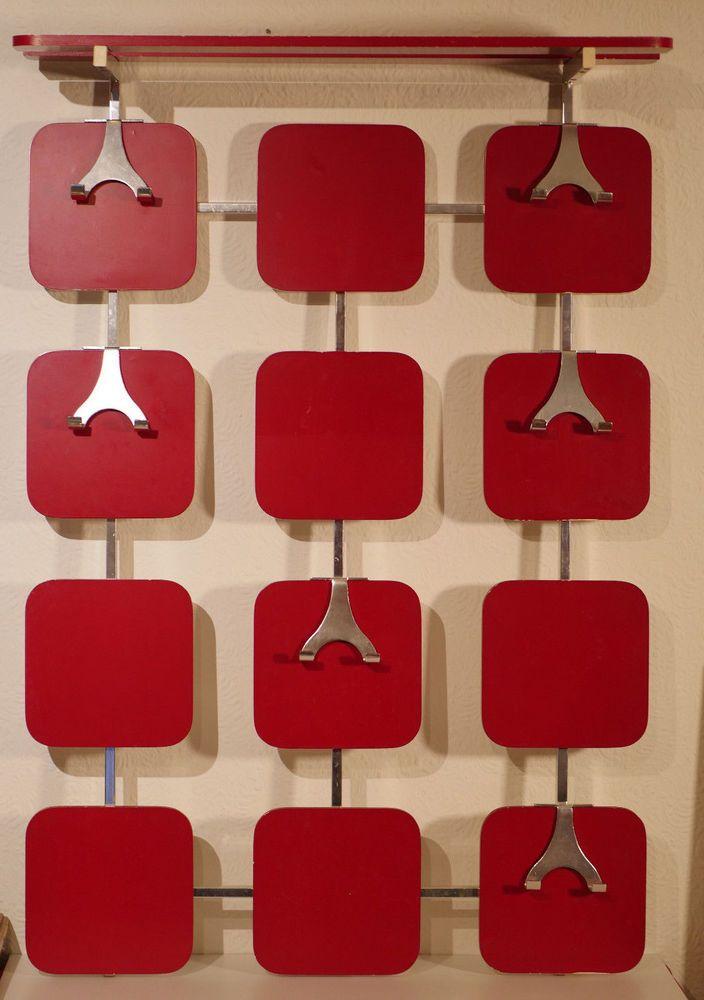 Details Zu Kult Original 70er Jahre Garderobe In Signal Rot