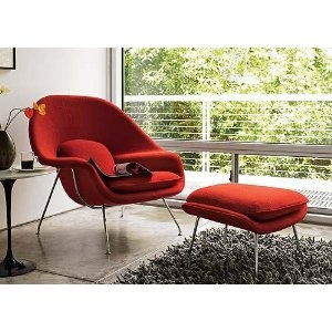 This might be the most comfortable chair I've ever sat in!  I'll have it one day!  Womb chair!