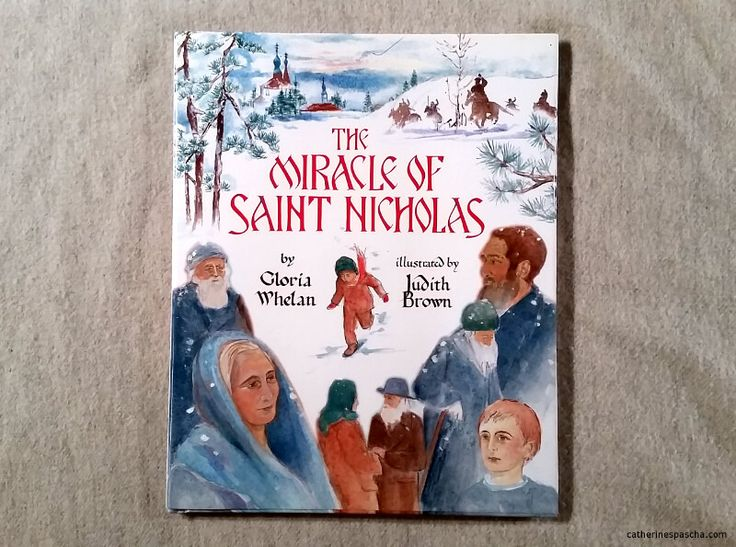 The Miracle of St. Nicholas is a good story, with lovely characters. But it is set in an Orthodox Church, and the author didn't understand enough about Orthodox practice to get it right.