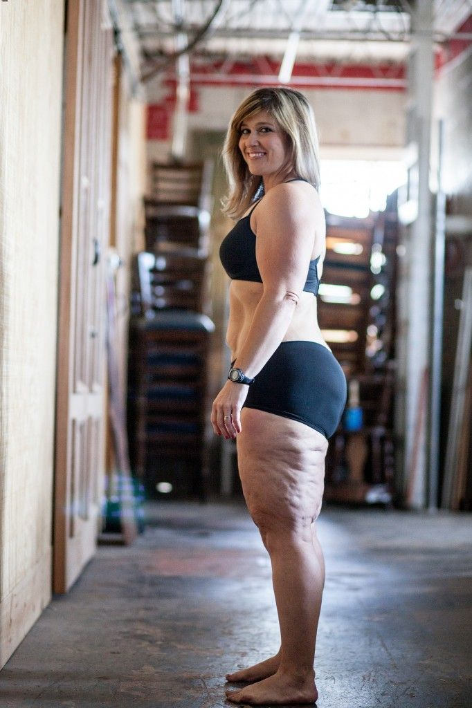 10+ Reasons I Love My Ugly Body-Even though I have lost 164lbs and  I am at my doctor's goal weight…  Even though I have been doing crossfit 4-5 days a week for almost 2 years and eat a very clean diet (90% of the time)… Even though I am a certified personal trainer and a Spartan, a Rugged Maniac, a Warrior and a Triathlete…  This is what my body looks like (almost) naked (She is such an inspiration!) :-)