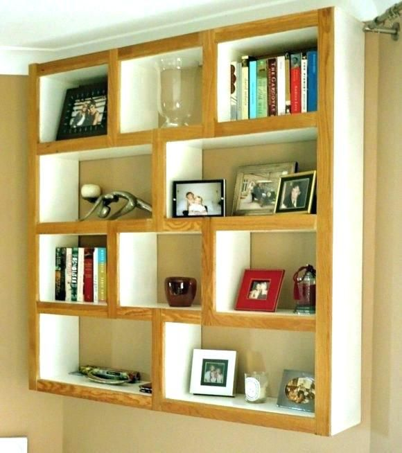 Wall Mounted Bookshelf Designs Modern Wall Shelves Design For