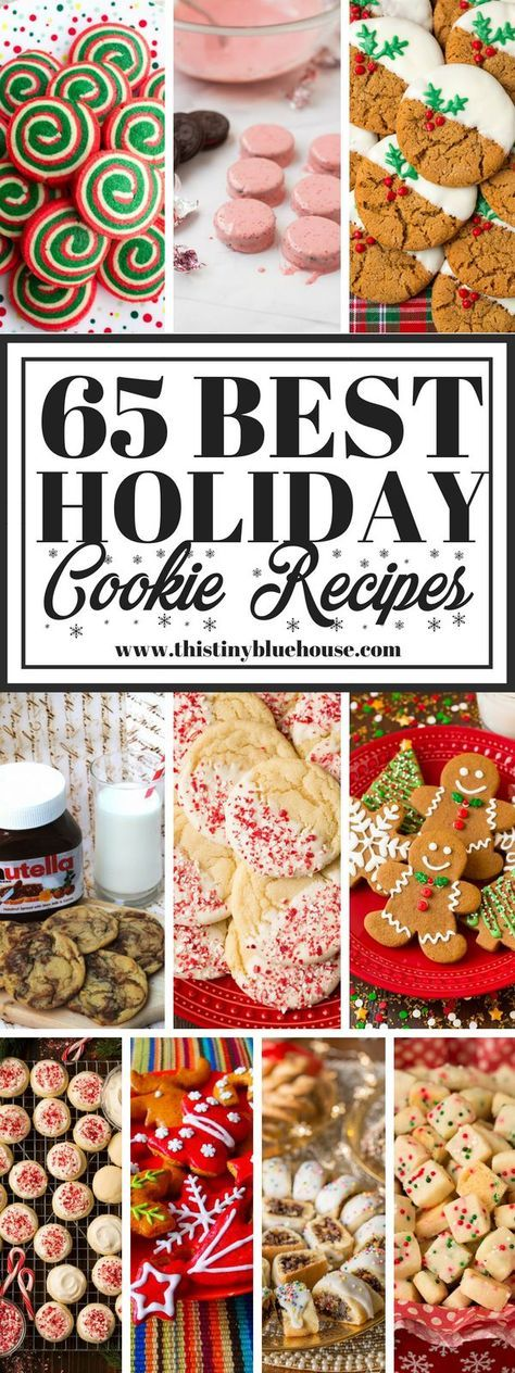 65 best delicious holiday cookie recipes