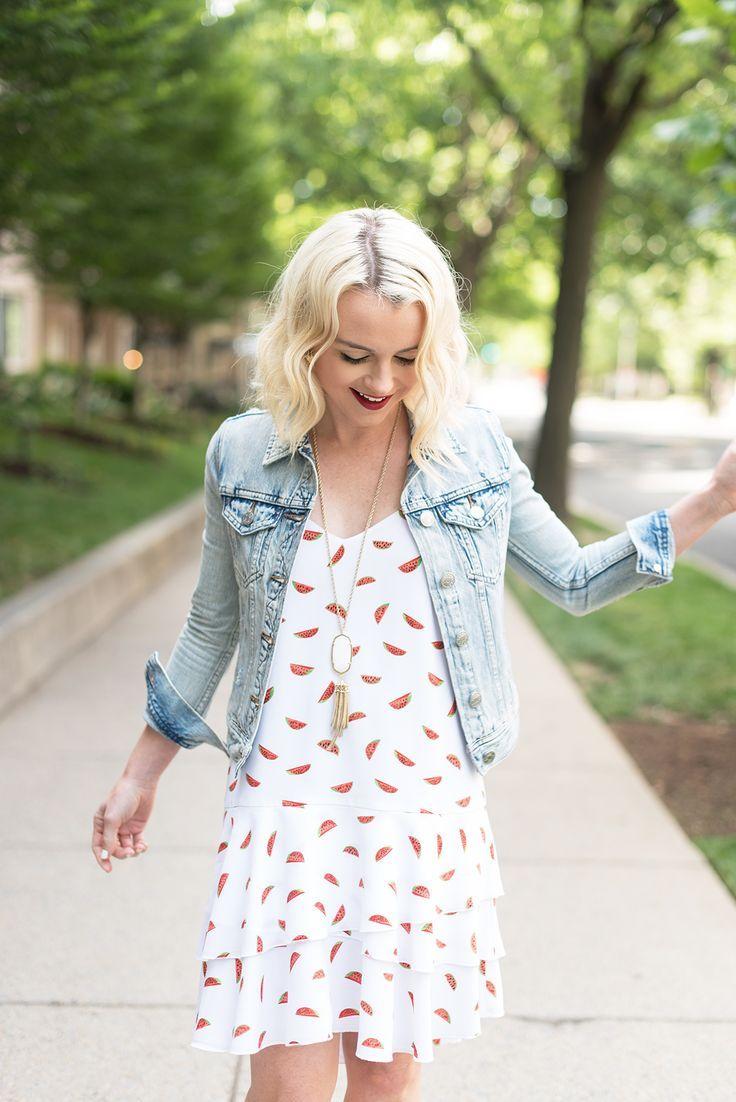 Poor Little It Girl - Watermelon Print Dress - @poorlilitgirl