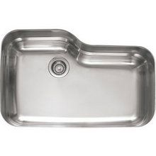 "View the Franke ORX 110 Orca 30-2/3"" x 20-"" Single Basin Undermount 18-Gauge Stainless Steel Kitchen Sink at FaucetDirect.com."