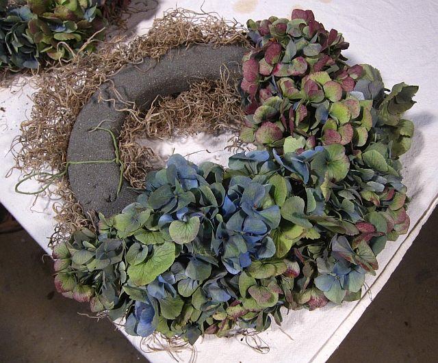 dried hyacinth wreaths - Google Search