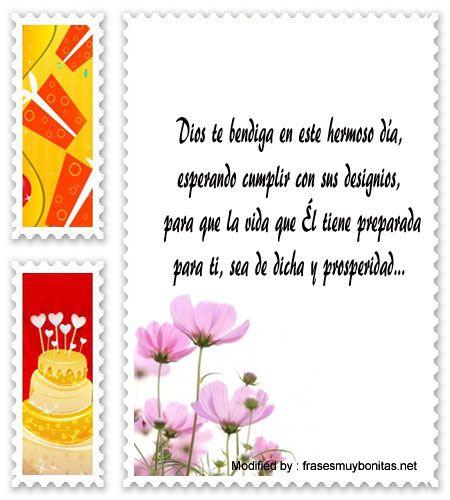 postales de cumpleaños para enviar por Whatsapp,tarjetas de cumpleaños para enviar por Whatsapp: http://www.frasesmuybonitas.net/mensajes-cristianos-para-saludos-de-cumpleanos/