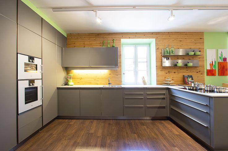 Küchenrückwand aus Altholz Fichte, Holzrückwand