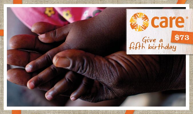 Help a child reach their fifth birthday in good health and they are more likely to grow into a healthy, active adult. This gift gives mothers access to maternal health care and teaches them about nutrition so they can give their children the best start to life.