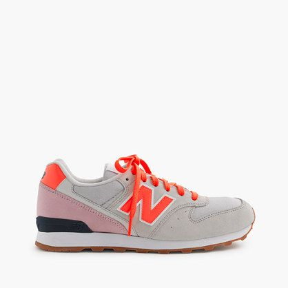 When New Balance decided to resurrect one of its most classic sneaker styles, the 696, from its archives, we couldn't have been more excited. So, we partnered with the brand to create these never-before-seen color combinations you can only find here—just in time for gift-giving season. <ul><li>Suede, mesh upper.</li><li>Import.</li></ul>