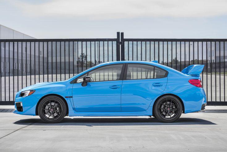 """2016 Subaru WRX STI """"Series.HyperBlue"""" '2015"""