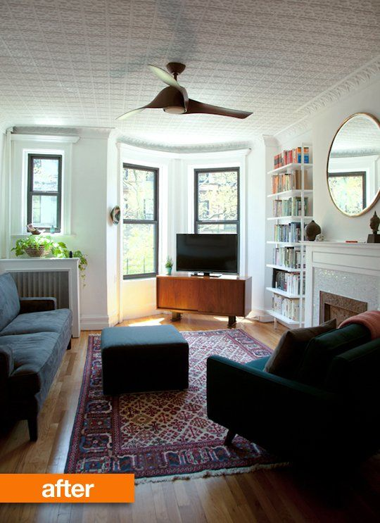 Before & After: Marie Clare & Peter's Park Slope Modern