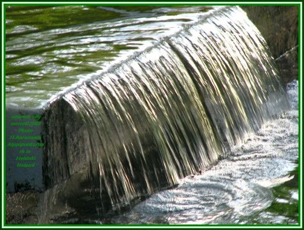 """H2O in Alppipark 2009"" by http://www.artwanted.com/ HeliAarniranta©2013"