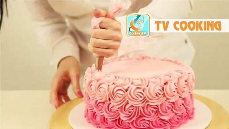 Amazing decorate cream cake art