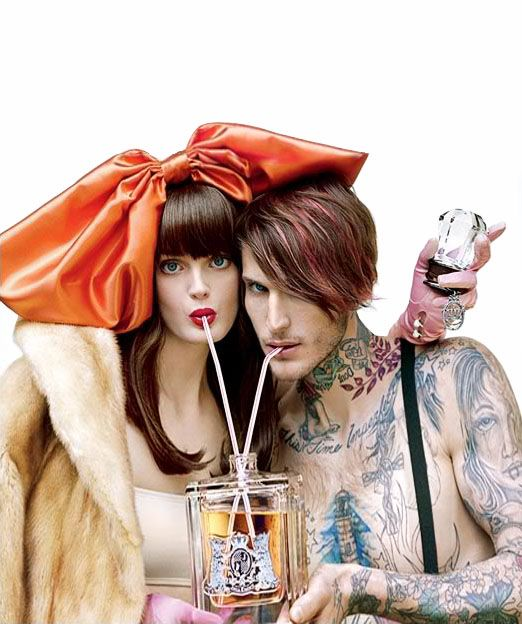 Juicy Couture Perfume ad -- love their marketing campaigns!